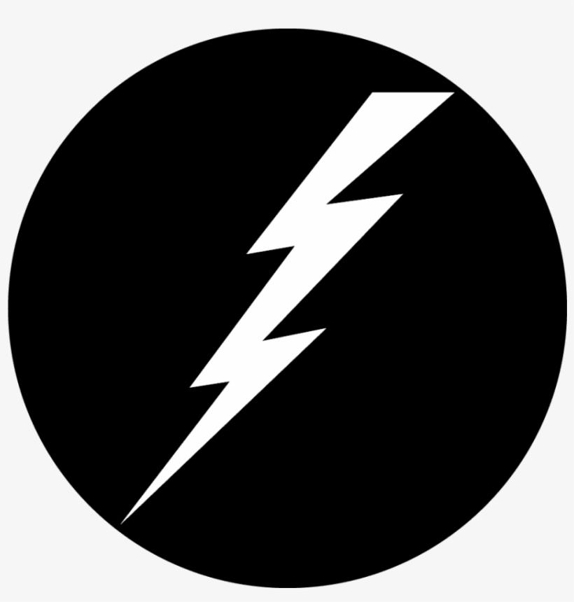 Lightning Bolt - Lightning Bolt Icon White, transparent png #1099032