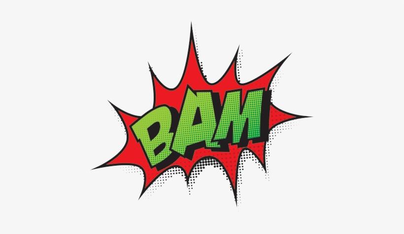 Comic Book Bam Png Transparent, transparent png #1099422