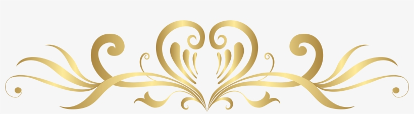 Gold Heart Decoration Png Clip Art Gallery Yopriceville - Gold Heart Design Png, transparent png #110429