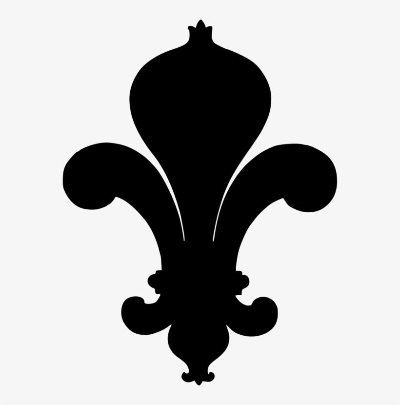 Fleur De Lis Silhouette World Scout Emblem - Silhouette Fleur De Lis, transparent png #110611