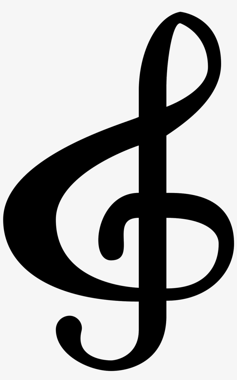 Notes Of The Bass Clef Png - Black Music Icon Png, transparent png #111012