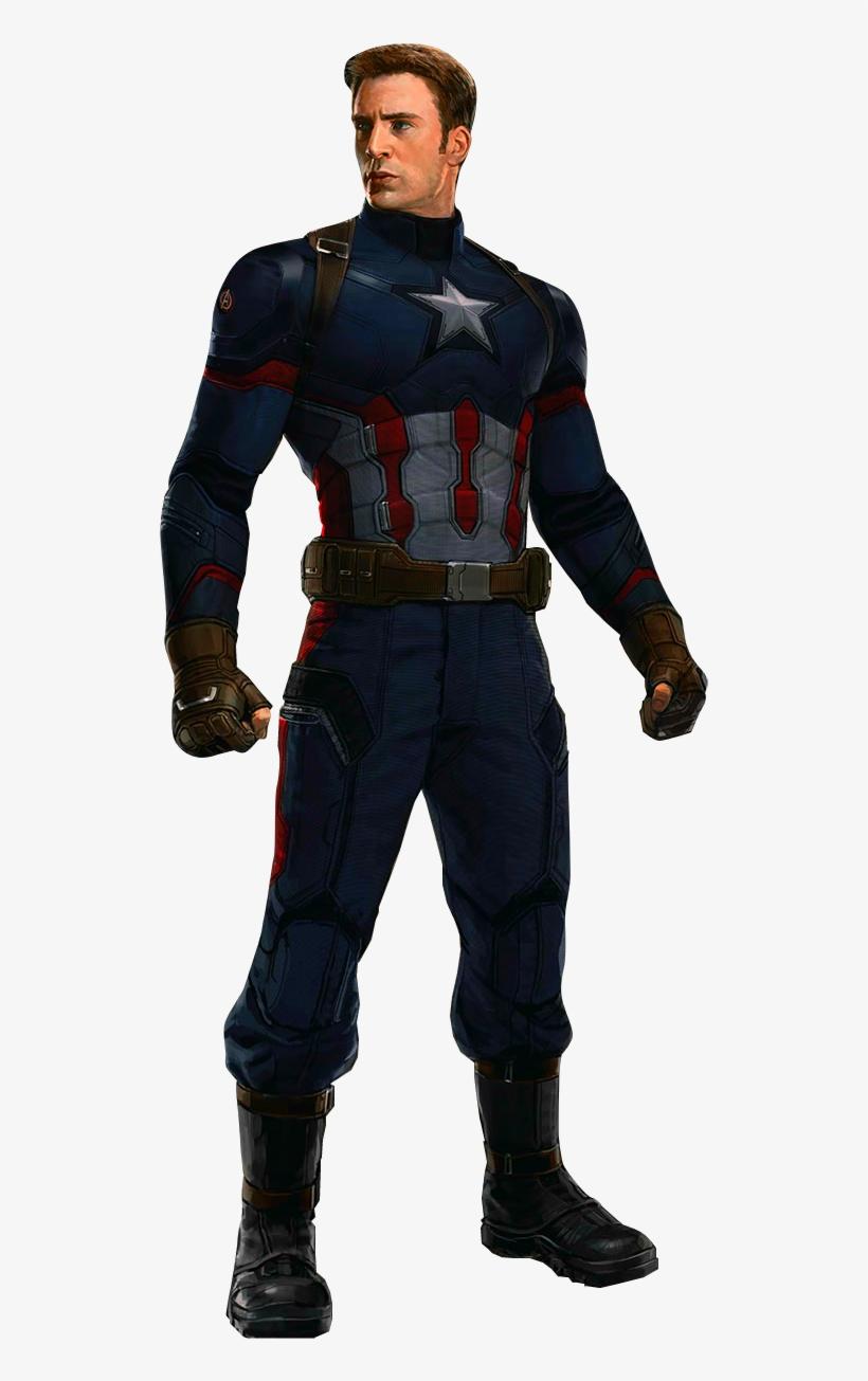 Png Capitão América - Captain America - No Mask - Captain America Civil War, transparent png #111202