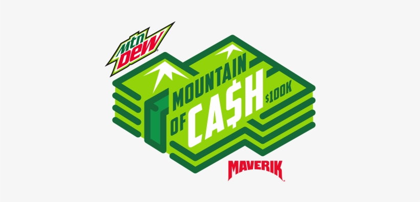 Maverik And Mountain Dew Have Teamed Up To Give Away - Mountain Dew Diet Soda - 20 Fl Oz Bottle, transparent png #111846