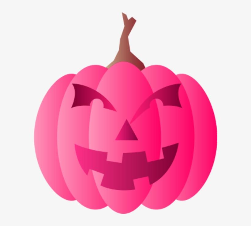 Pink Pumpkin Clipart Halloween Clipart Pink Pumpkin Free Transparent Png Download Pngkey