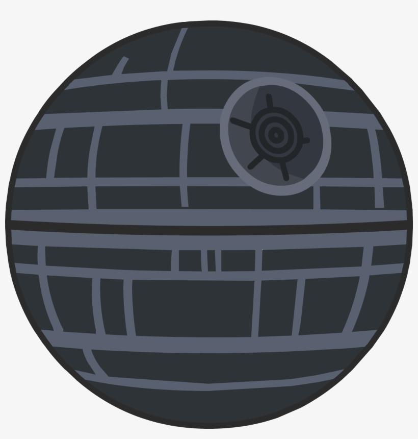 The Death Star Was A Colossal Floating Space Station, - Estrella De La Muerte Dibujo, transparent png #113595
