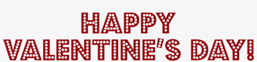 Happy Valentines Day Png Image Free Download - Happy Valentine's Day Png, transparent png #113835