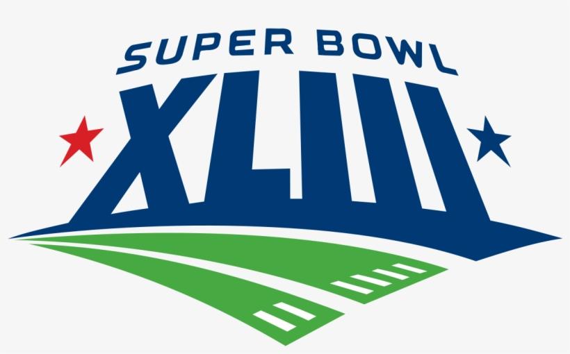 Super Bowl Xliii - Super Bowl Xliii Logo, transparent png #114229