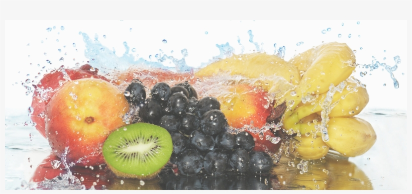 Fruit Water Splash G - Fruits Hd In Water, transparent png #114837