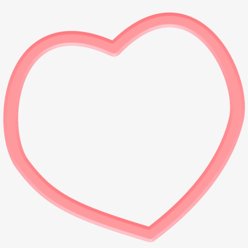 For Free Frame Heart Png In High Resolution - Heart Frame, transparent png #114913