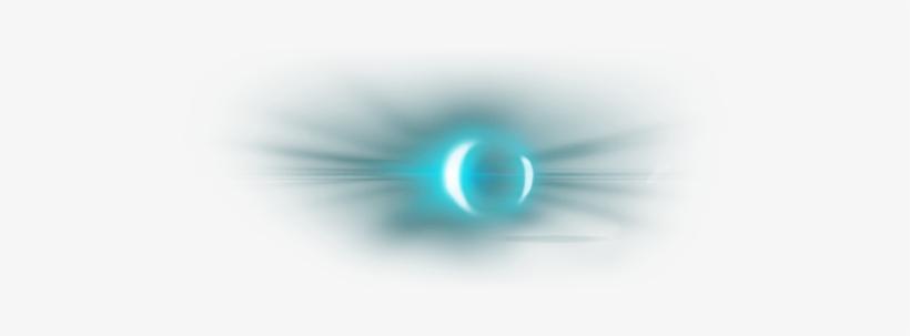 Glow Eyes Png - Glowing Blue Eyes Png, transparent png #115137