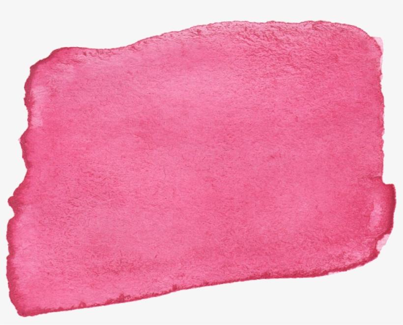 10 Pink Watercolor Brush Stroke Banner Vol - Watercolor Gold Brush Stroke Vector Png, transparent png #115746