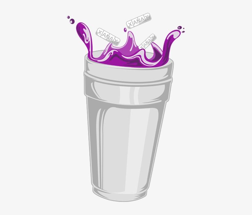 Purple Drank Desktop Wallpaper