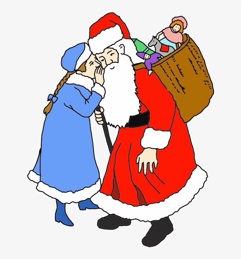 Funny And Free Santa Claus Clipart - Santa Claus, transparent png #116736