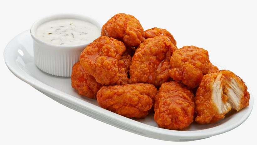 Boneless Wings - Spicy Boneless Chicken Wings, transparent png #117206