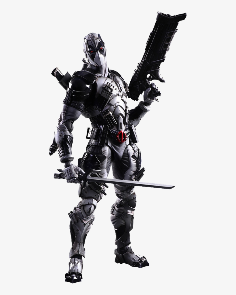 Deadpool X-force Version Collectible Figure - Marvel