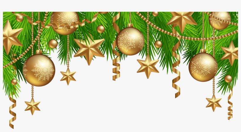 Christmas Border Decor Png Clipart Christmas Border Png