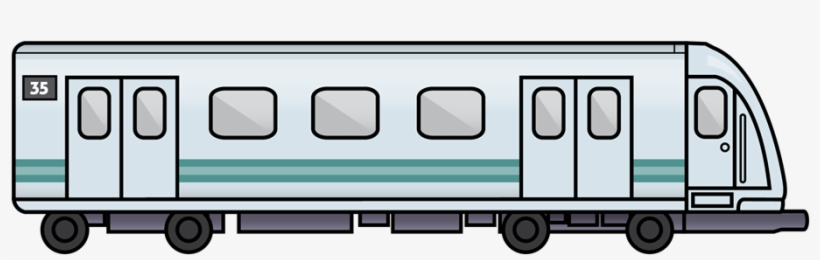 Train Drawing Side View - Subway Clip Art - Free ...
