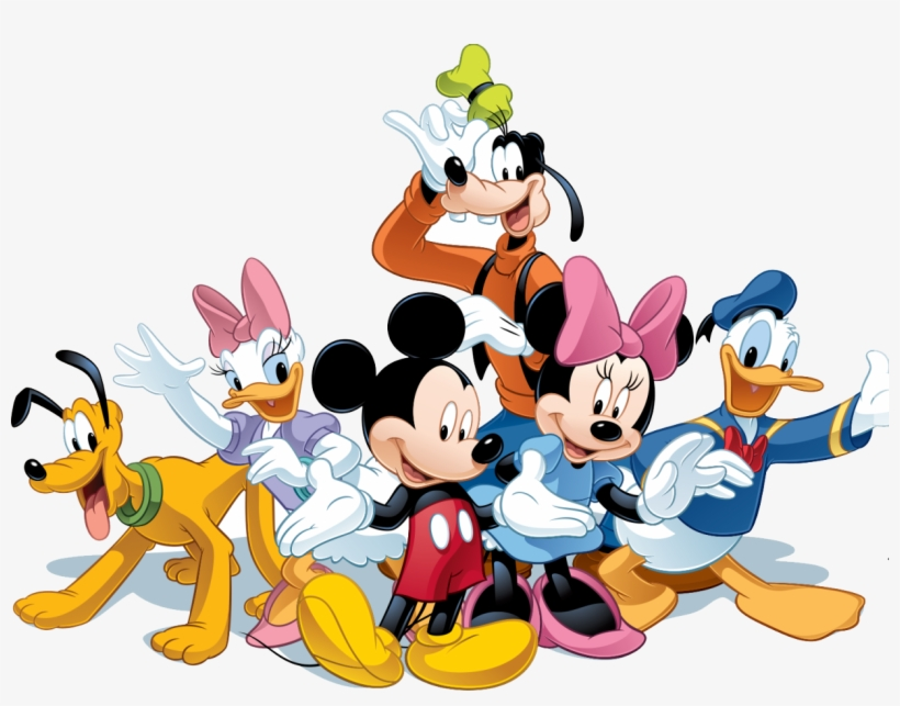 Mickey Mouse & Friends Png Image - 6 Days To Disney, transparent png #117476