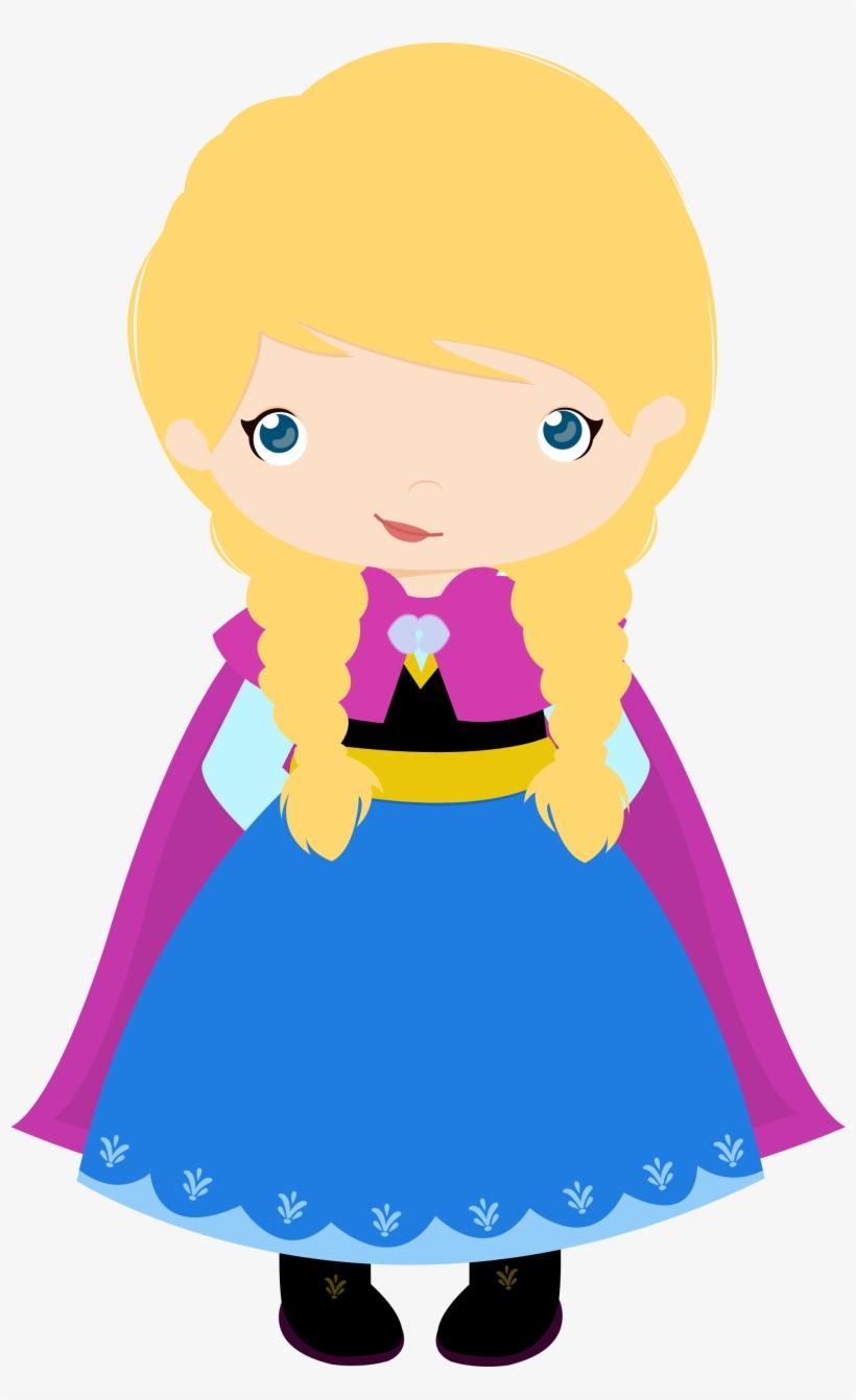 Frozen Clipart Baby Elsa - Frozen Anna Cute Png, transparent png #118043