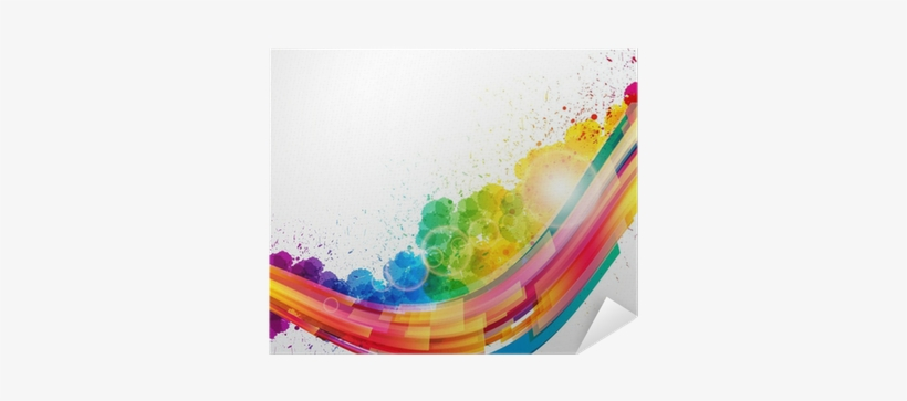 Abstract Background Forming By Watercolor Paint Splashes - Buy 1 Get One 50% Off!, transparent png #118125