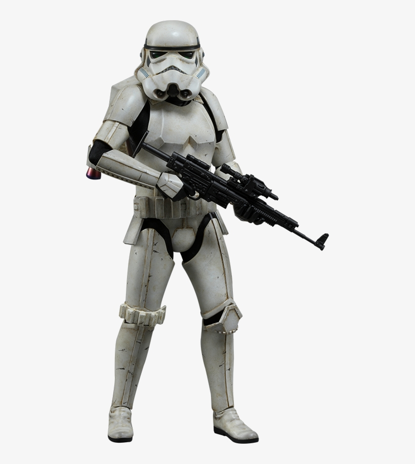 Star Wars Jumptrooper Sixth Scale Hot Toys Silo 902768 - Star Wars - Snowtrooper Deluxe Action Figure 1:6 Scale, transparent png #118361