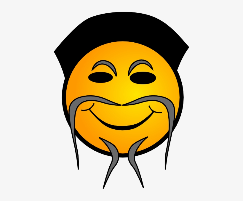 Chinese Emoticon Clip Art - Chinese Smiley Face, transparent png #118675
