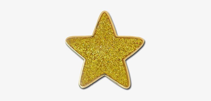 Gold Glitter Star Png, transparent png #119136