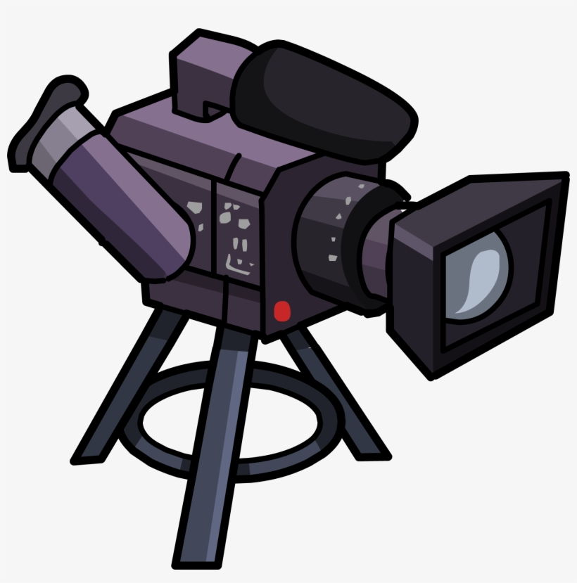 Video Camera Icon - Clip Art Video Camera, transparent png #119596