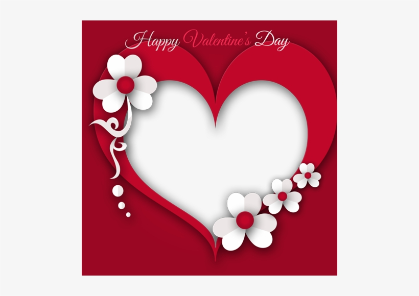 Valentines Day Heart Frame Png Transparent Image Valentine Day