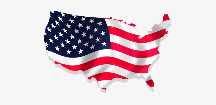 Usa-flag Png Usa Flag Png - American Flag Usa Map, transparent png #119954