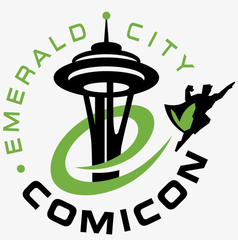How Do Comic Books Belong In Higher Education - Emerald City Comic Con 2017 Logo, transparent png #1100012