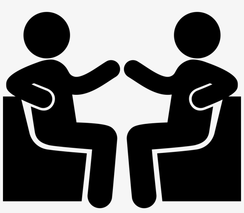 Friends Talking Comments - People Talking Icon, transparent png #1103025