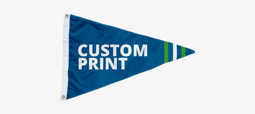 Custom 3'x5' Pennant - Custom Flags 3 X 5, transparent png #1104890