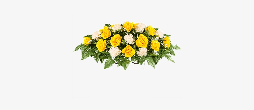 Golden Rose With Cream - Garden Roses, transparent png #1106142