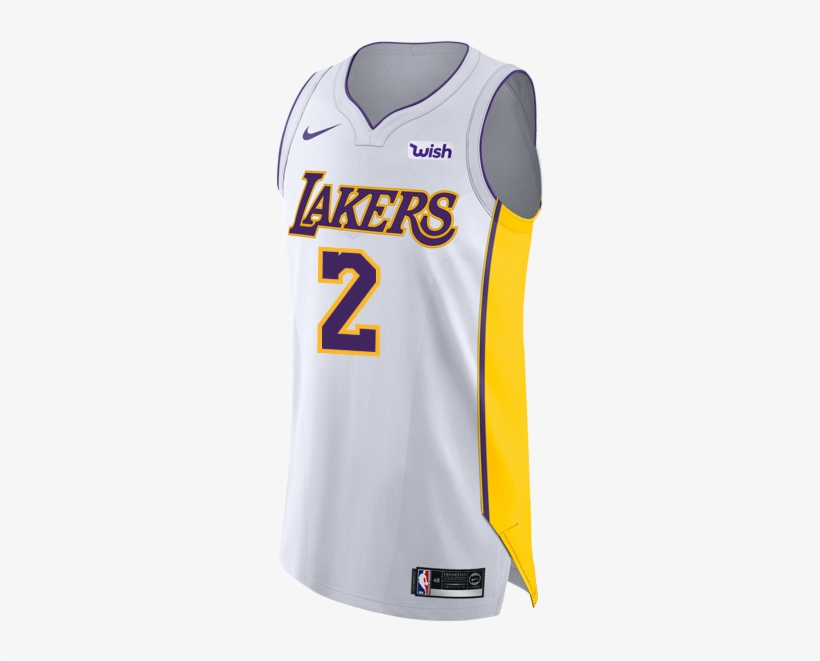 Team Los Angeles Lakers - Lakers Authentic Jersey, transparent png #1107054