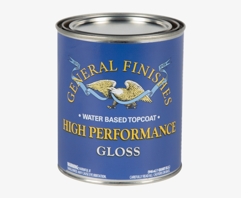 General Finishes Satin High Performance Water Based - Fish Products, transparent png #1107300