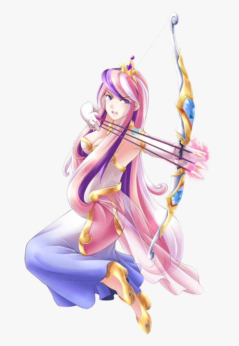Princess Mi Amore Cadenza - My Little Pony Anime Princess Cadance, transparent png #1108184
