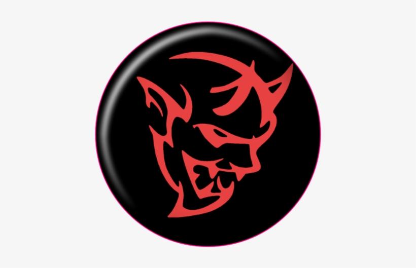 2017 Challenger Demon Push To Start Button Overlay - Dodge