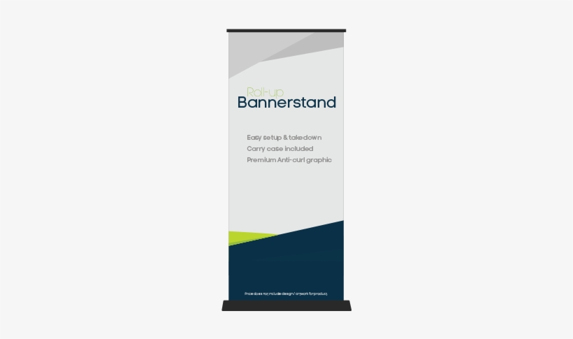 Our Banner Stands Are A Premium Unit With No Flimsy - Standing Banner Template Png, transparent png #1109927