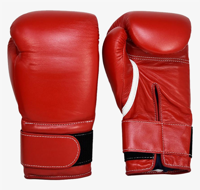 Professional Super 14 Oz Boxing Gloves - Winning Velcro Red