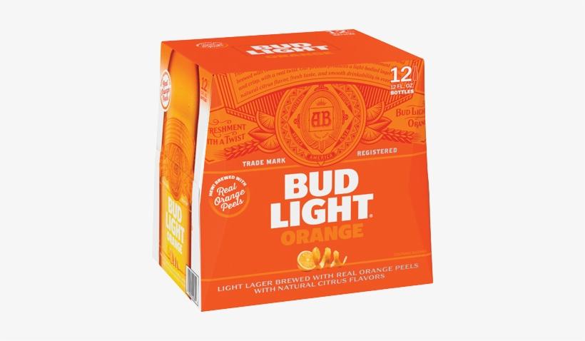 Bud Light Orange 12 Pack, transparent png #1111025
