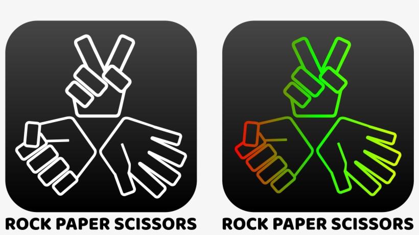 Rock Paper Scissor 1 - Paper, transparent png #1113579