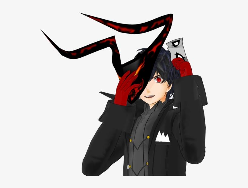 15 Persona 5 Joker Mask Png For On Mbtskoudsalg - Black Mask Persona 5, transparent png #1115196