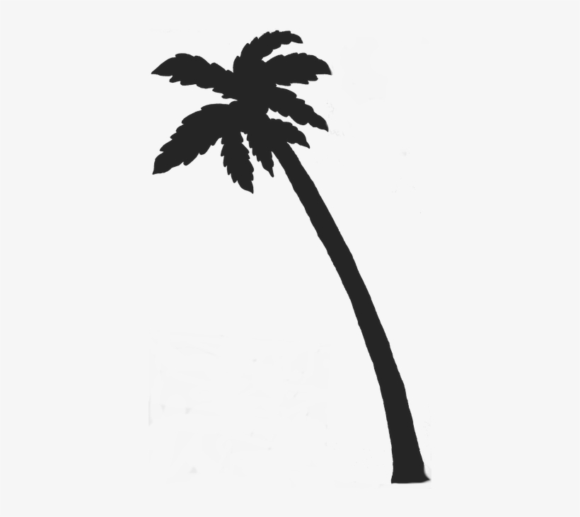 Clipart Palm Tree - Palm Tree Transparent Background, transparent png #1117915