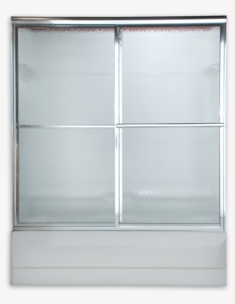 Prestige Sliding Bath Shower Doors - American Standard Prestige Framed Bypass Shower Door, transparent png #1119028