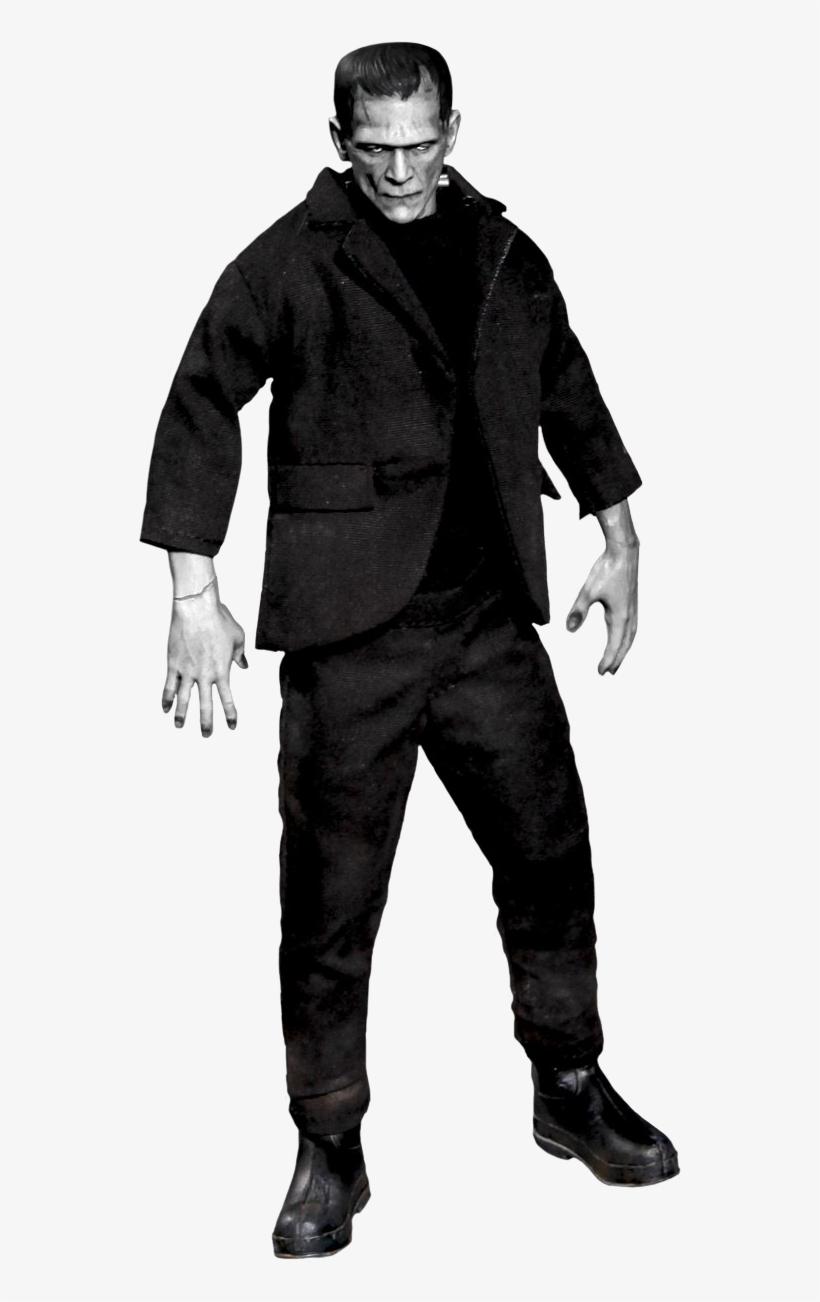 Frankenstein - Mezco Toys One-12 Collective: Frankenstein Action Figure, transparent png #1120840