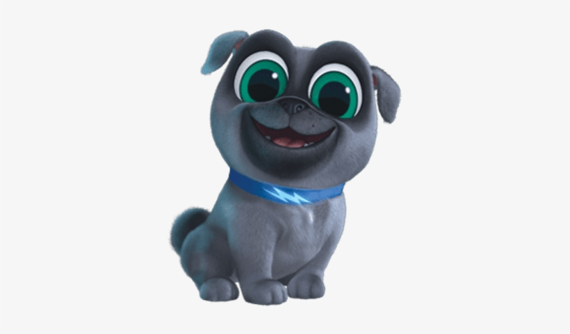 Puppy Dog Pals Bingo Smiling - Bingo Puppy Dog Pals, transparent png #1121780