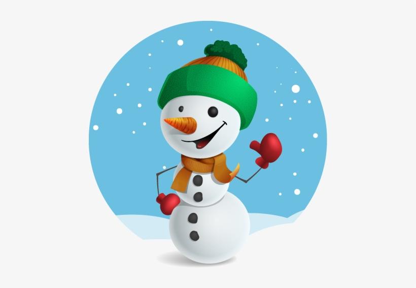 Free Cute Snowman Clip Art - Snowman Vector - Free Transparent PNG Download  - PNGkey