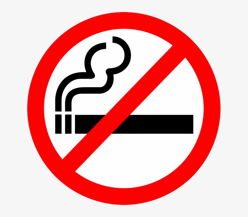 Smoking And Burning Cigarette Royalty Free Vector Clip - No Smoking Clipart, transparent png #1122899