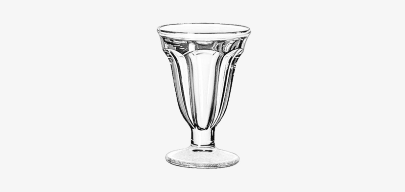 Ice Cream Sundae/dessert Dish - Libbey 6-1/4 Oz. Glass Sundae Dessert Dish 5315, transparent png #1123548